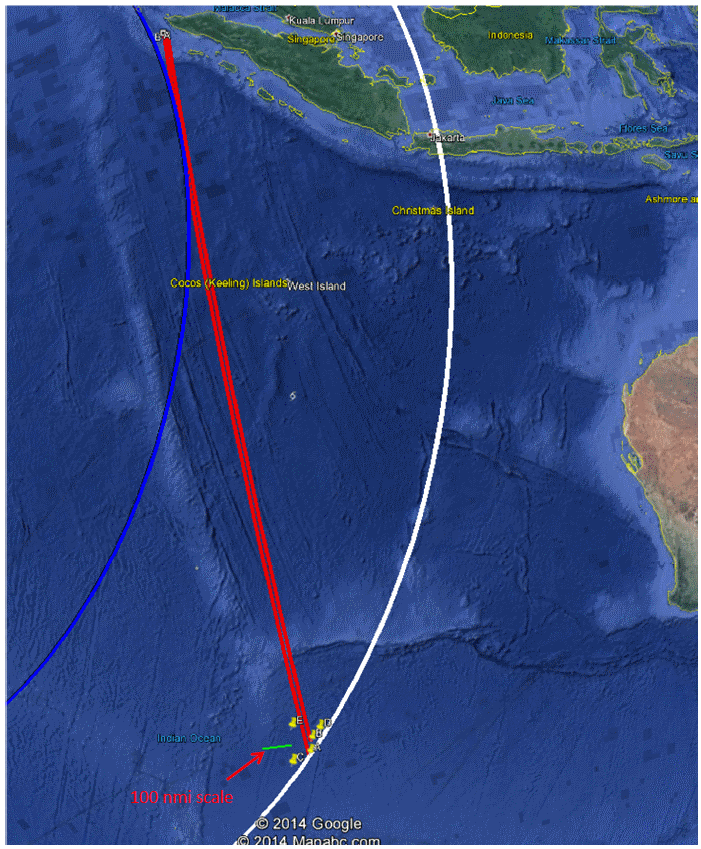 MH370 Best Estimate